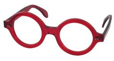 European Reader Glasses by Melissa Eyewear. Round frame for men and women. If the world is a stage, be a star. The epitome of drama. A bold, round design in vibrant colors and combination. Go ahead, put them on, you will love wearing them. Made in Italy. Both frame and lenses are optical quality.