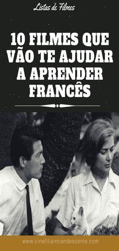 10 filmes que vão te ajudar a aprender francês. #filmes