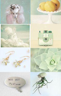MINT ROMANCE by Julia Nacheva on Etsy--Pinned with TreasuryPin.com