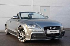 Daytona Grey Metallic Audi TT Roadster