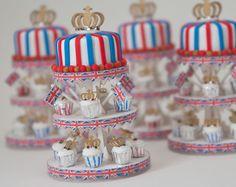 Diamond Jubilee Miniature Dessert Tower by true2scale on Etsy. $45.00, via Etsy.