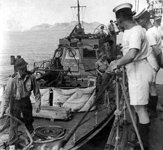 Photographs of the German surrender in the Dodecanese islands, 1945 World War, Wwii, German, Education, History, Mtb, Islands, Photographs, Ships
