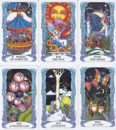 Tarot of the Moon Garden- also really want this deck