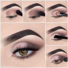 Awesome eye make-up tutorials for our girls! - MakeUp For Women İdeas Glam Makeup, Skin Makeup, Makeup Inspo, Eyeshadow Makeup, Makeup Inspiration, Makeup Shop, Girls Makeup, Blonde Makeup, Nyx Lipstick