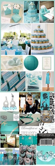 Who does not love or dream of Tiffany's?! There is something absolutely beautiful about the classic tiffany blue that makes us girls swoon