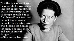 On this day in 1908, Simone Lucie-Ernestine-Marie-Bertrand de Beauvoir- or Simone de Beauvoir as she was later known- was born in Paris, France. De Beauvoir was a writer, feminist, intellectual, po...