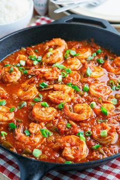 Shrimp Creole. A healthy nod to Mardi Gras!