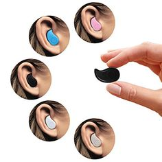 Mini Invisible PChero® Ultra Small Bluetooth 4.0 Earbud Headset with microphone, Support Hands-free Calling For Smartphones, Perfect for Listening to Music at work - [Black] - http://21stmobile.com/bluetooth-headsets/mini-invisible-pchero-ultra-small-bluetooth-4-0-earbud-headset-with-microphone-support-hands-free-calling-for-smartphones-perfect-for-listening-to-music-at-work-black/