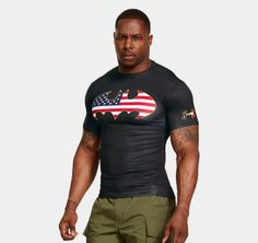 cac75b4592 Men's Under Armour® Short Sleeve Compression Shirt | 1244399 | Under Armour  US Batman Shirt