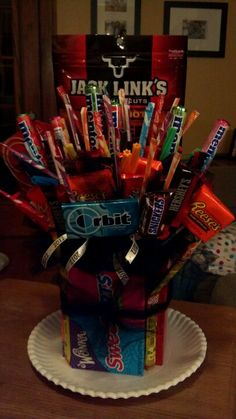 Movie Night Bucket with movie gift card Gift Ideas Pinterest