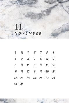 Download premium vector of Black and white November