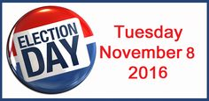 Ramblings of a Semi-Mad Man: Election Day - Get Out and Vote!