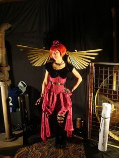Steampunk angel.
