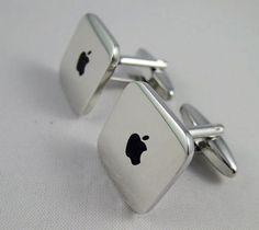 Mens Cufflinks-Fashion Cufflinks, Mac Mini Design, with a Gift Box. Lightweight, fun and stylish to wear.