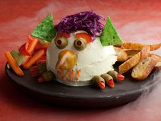 Cheese Ball Goblin from FoodNetwork.com