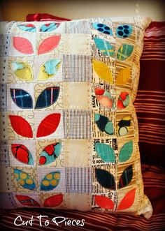 Cosmos Pillow Complete -Front by Cut To Pieces, via Flickr