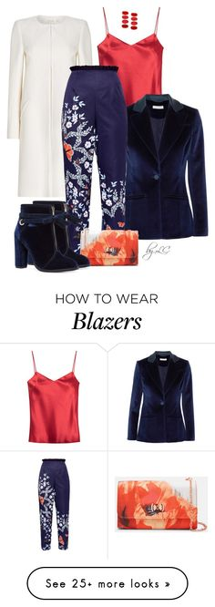 """""""Untitled #445"""" by explorer-14541556185 on Polyvore featuring Galvan, Altuzarra and Ted Baker"""