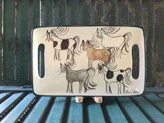 Horse Decor,Horse Art,Equestrian,Equine,Horse Lover Gift,Equestrian Gift,Horse gift,Horse Gifts,Horse Mug,Horse Coffee Mug,Molly Dallas,Tray by MollyDallasCo on Etsy