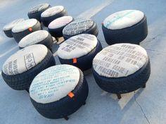 28 smarta sätt att återanvända dina gamla däck. Hurra för återbruk!
