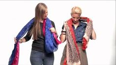 You'll never get bored of the same scarf-- wear it 10 ways and let Stella & Dot show you how!