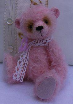Floss Teddy Bear E-Pattern by EssentialBears on Etsy