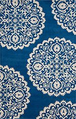 Goa Cobalt & Ivory Rug design by Surya Wool Area Rugs, Blue Area Rugs, Wool Rug, Paisley, Clearance Rugs, Blue Orchids, Rugs Usa, Hand Tufted Rugs, Contemporary Rugs