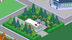 Springfield Simpsons, Springfield Tapped Out, The Simpsons Game, What Have You Done, Galaxy Wallpaper, Animal Crossing, Cartoons, Room Ideas, Design Ideas