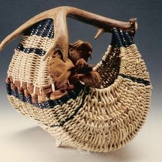 Antler Hen Basket - BONNERS FERRY 11/15 from J. Choate Basketry for $95.00 on Square Market
