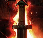 Pretty much any hand forged sword from these guys would be amazing.