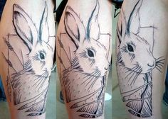 e7a5d1e91 10 best Hare Tattoo images in 2017 | Bunny tattoos, Rabbit tattoos ...