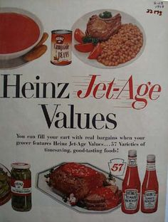 1958 Heinz Catsup ad