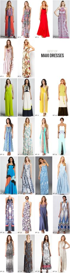 // Best Of: Maxi Dresses by Modern Eve