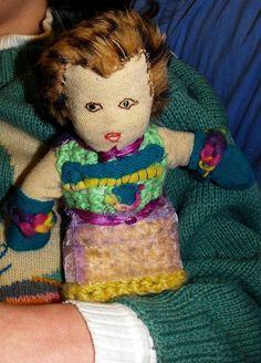 Peggy - Unusual Handsewn Rag Doll