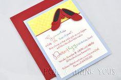 Wizard of Oz Ruby Slipper Invitations for Girls Birthday Party-wizard of oz dorothy ruby slippers