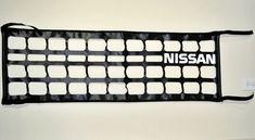 Tailgate Net Black Nissan TRUCK Genuine Parts Replacement W / Nissan Logo  #Nissan