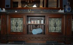#custom repurposed cabinets #Nelson Bridge