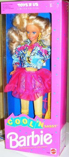 1992 Cool 'N Sassy Barbie