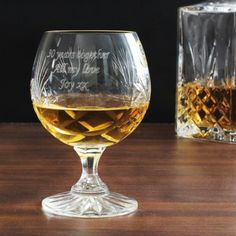 Crystal Large Brandy Glass | Glassware | Exclusively Personal