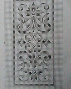 Hobilerim ve ben: 2019 Celtic Cross Stitch, Cross Stitch Borders, Cross Stitch Flowers, Cross Stitch Designs, Cross Stitching, Cross Stitch Embroidery, Cross Stitch Patterns, Crochet Doily Rug, Crochet Dollies