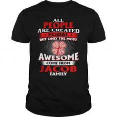 Jacob is your name or the name of your family. This is a great gift for you or your family: It's a Jacob Thing You Wouldn't Understand - Name Custom T-Shirts  christmas