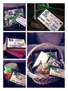 One year anniversary gift for boyfriend ❤️