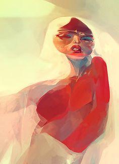 Saliva - 2010 CG illustration (by Veronique Meignaud) Inspirational Artwork, Electronic Art, Beautiful Artwork, Art Day, Art Direction, Painting & Drawing, Comic Art, Sculpting, Concept Art