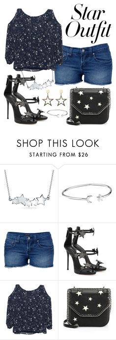 """""""Star Outfit"""" by fashion5girl00 ❤ liked on Polyvore featuring Bling Jewelry, Alex and Ani, Venus, Giuseppe Zanotti, Velvet by Graham & Spencer, STELLA McCARTNEY and StarOutfits"""