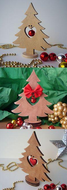 #árbol de #navidad hecho con madera