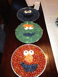 Birthday party fancy food