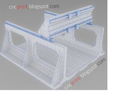 . . . CNC Portalfräse - 3D Drucker - traue dich!