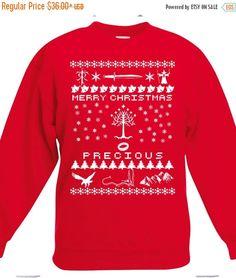 Lord of the Rings Inspired Christmas Sweatshirt by NerdGirlTees