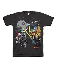 Another great find on #zulily! Star Wars LEGO Death Star Tee - Boys by Star Wars #zulilyfinds