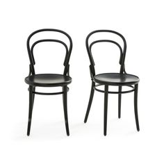 Neda Beech Chairs, Set of 2 AM.PM A beautiful reissue of the iconic bistro chair.