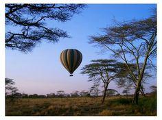 Amanecer en globo en Serengeti